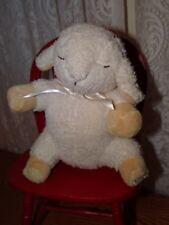 "Cloud B Sleep Sheep Travel 8"" Pottery Barn Plush Hard to find ""Stream"" sound"