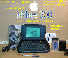  Apple Newton eMate. Memory Upgrade, WiFi, Connect to Macintosh, NEW  batteries