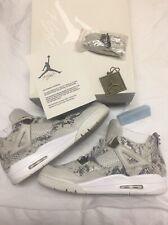 Air Jordan IV 4 Retro Premium Pinnacle Snakeskin Size 12 Off White Yeezy Bred XI