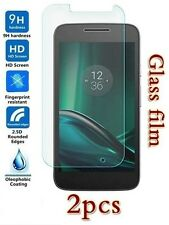 2X Motorola Moto G4 Play Tempered Glass / Plastic Screen Protector Film Guard
