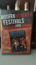 MODERN DRUMMER FESTIVAL 2000 Schlagzeug Drum 2 DVD´s
