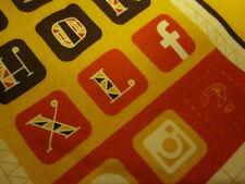FACEBOOK Hackathon T-Shirt Medium Orange Employee coder M MD Poke Developer tee