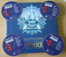 EX! The Police MESSAGE IN A BOX 4 CD + 66-page book EARBOOK EDITION