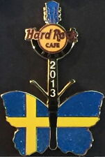 Hard Rock Cafe ROME 2013 BUTTERFLY GUITAR Series PIN 1 of 8 SWEDEN - HRC #72971