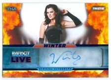 "WINTER ""AUTOGRAPH CARD #16/25"" KNOCKOUT TNA IMPACT LIVE 2013"