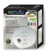 Usi Electric Hardwired 2-in-1 Universal Smoke Sensing Smoke Alarm (Mds107) (I)