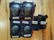 Rollerblade Brand Safety Gear Size L - Wrist Guards Knee & Elbow Pads Great Shap