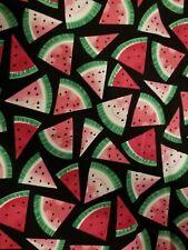 Watermelon Fat Quarter watermelon seeds watermelon slices quarter mask material