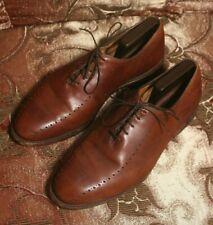 """Allen Edmonds Men's Shoes """"Hastings"""" Plain Toe Oxfords BROWN SZ US 10 3E"""