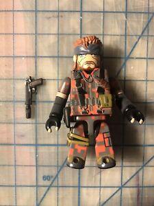 Medicom Toy Kubrick Metal Gear Solid 3 Naked Snake Eater Squares camo