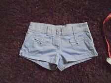 H&M Cotton Patternless Mid Rise Shorts for Women