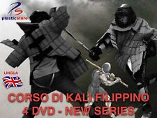 Kali Filippino Escrima - 4DVD + 1 Omaggio - Stick Fighting and Panantukan
