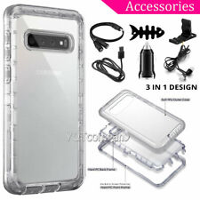 For Samsung Galaxy S10 Plus S20 Ultra Note10 Case Hybrid Clear Cover Accessories