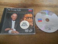 CD Klassik G Solti - United Nations 50th Anniversary Concert (7 Song) DECCA jc
