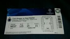 Ticket Club Brugge - Real Madrid CF 11.12.2019 UEFA Champions League CL 19/20