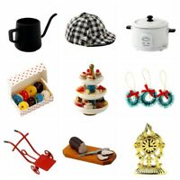 1:12 Dollhouse Miniature Living Room Bathroom Kitchen Accessories Collectibles w