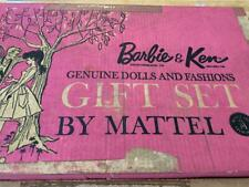 New Listing1962 Barbie & Ken Genuine Dolls and Fashions Gift Set by Mattel