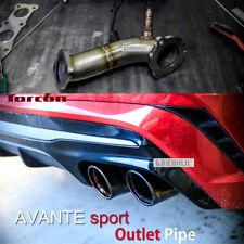 TORCON Power Lab Exhaust Turbo Downpipe for Hyundai Elantra Sport 2017+
