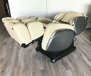 Cream Osaki OS-4500 OS-4000CS Zero Gravity Recliner Reclining Massage Chair HEAT
