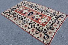"""Vintage Handmade Turkish Oushak Area Rug Carpet 6'11""""x4'5"""""""