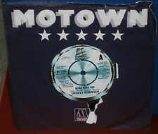 SMOKEY ROBINSON BEING WITH YOU / WHATS IN YOUR LIFE FOR ME TMG 1223 1980 MOTOWN