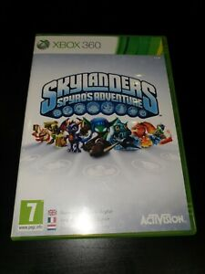Skylanders Spyro's Adventure Microsoft Xbox 360 Kids Game Only, 1st Class Post