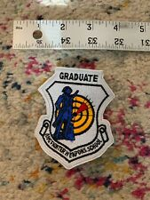 US Air Force ANG Fighter Weapons School Graduate Patch