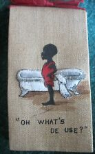 New listing Antique Soap Advertising African Amer. Child Bath Tub Black Memorabilia