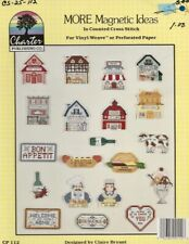 Vintage 1989 Magnets in Cross Stitch Leaflet - Charter Publishing Co.