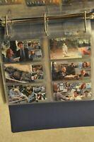 X-Files Vintage 204 Cards Binder Bundle Lot Intrepid 1996 Topps & 1997 inserts