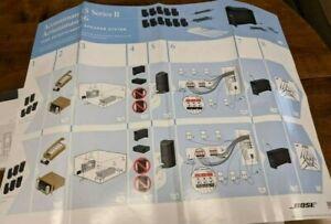 Bose Acoustimass 15 Series II Home Entertainment Speaker System 220-240V (black)
