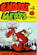 Choice Meats #2 Underground Comic/George Hansen/Adam's Apple/1972