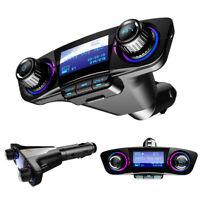 FM Transmitter Aux Bluetooth Freisprecheinrichtung Auto Audio MP3 Ladegerät USB