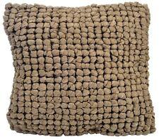 coussin Cabana en coton 15% et polyester 85% brun; 40x40cm