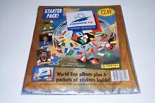 PANINI France 98 - 1 OVP Starterpack + 6 packs UK Edition Top/Rare