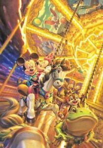 Disney 2000 Piece Two Merry-Go-Round D-2000-601 Tenyo 73cm×102cm 4905823946015