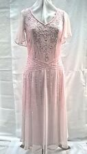 Beautiful Beaded Evening Dress - Only £45.00 - Special Occasion - Cruises