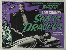SON OF DRACULA Movie POSTER 30x40