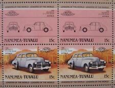 1948 HOLDEN FX 2.1 LITRE Sedan Car 50-Stamp Sheet Auto 100 Leaders of the World