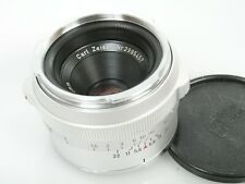 Carl Zeiss Contarex Tessar 2,8/50 50mm 1:2,8 optisch fast NEUW. barrel Near Mint