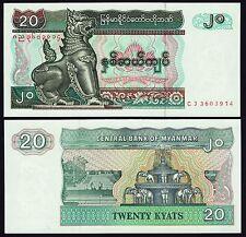 MYANMAR P72***20 KYAST***ND 1994***UNC GEM****LOOK SUPER SCAN