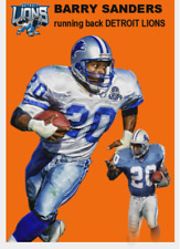 BARRY SANDERS 54 ACEO ART CARD ## BUY 5 GET 1 FREE ## FREE COMBINED SHIPPING