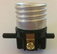 New On/Off Push-Thru Lamp Socket Interior E26 Medium, Standard Base #SO202I