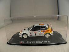 High speed Toyota Corolla WRC Rallye 1998 neuf en boite 1/43 MIB