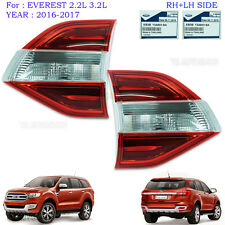 Lh+Rh Rear Tail Lamp Inner Tailgate For Ford Everest Suv 4x4 Genuine 2016 2017