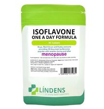Soya Isoflavone Red Clover 30 Tablets Soy Isoflavones Kudzu Extract Safe Natural