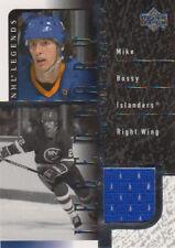 00-01 Upper Deck Legends LEGENDARY GAME JERSEY Mike BOSSY - Islanders