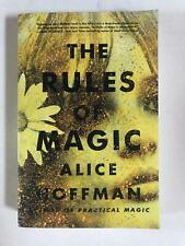 The Rules of Magic by Alice Hoffman Large Format Trade Paperback 2017 Like New