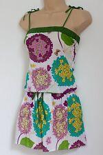 Ladies Cotton Pretty Summer Mini Dress/Tunic Dress. Beach/Holiday. Size 8-10