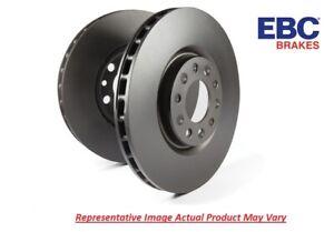 EBC RK Plain Rotor Pair Front Vented for 2007-2014 Mini Cooper 1.6 # RK1487